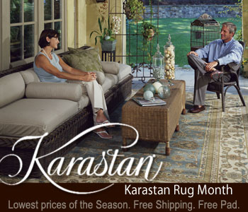 Karastan Rug Month