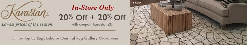 Karastan In Store Promotion