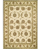 RugStudio presents Rugstudio Famous Maker 39053 Ivory Hand-Tufted, Better Quality Area Rug