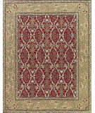 RugStudio presents Nourison Sixteenth Century 1605 Red Hand-Hooked Area Rug