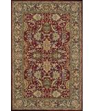 RugStudio presents Nourison Sixteenth Century 1628 Red Hand-Hooked Area Rug