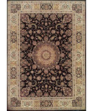 RugStudio presents Nourison 2000 2050 BLACK Hand-Tufted, Good Quality Area Rug