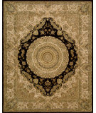 RugStudio presents Nourison 2000 2233 Black Hand-Tufted, Best Quality Area Rug
