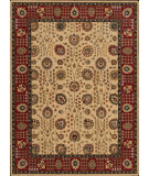 RugStudio presents Nourison Arcadia AA-07 Beige Machine Woven, Better Quality Area Rug