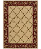 RugStudio presents Nourison Arcadia AA-10 Beige Machine Woven, Better Quality Area Rug
