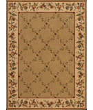 RugStudio presents Nourison Arcadia AA-10 Light Brown Machine Woven, Better Quality Area Rug