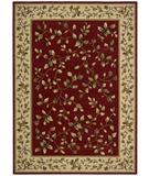 RugStudio presents Nourison Arcadia AA-14 Red Machine Woven, Better Quality Area Rug