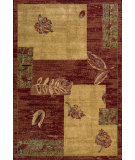 RugStudio presents Nourison Arcadia AA-17 Burgundy Machine Woven, Better Quality Area Rug