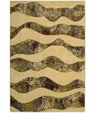 RugStudio presents Nourison Arcadia AA-18 Beige Machine Woven, Better Quality Area Rug