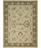 RugStudio presents Nourison Alexandria AL-04 Light Green Machine Woven, Better Quality Area Rug