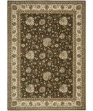 RugStudio presents Nourison Alexandria AL-05 Brown Machine Woven, Better Quality Area Rug