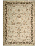 RugStudio presents Nourison Alexandria AL-06 Light Green Machine Woven, Better Quality Area Rug