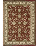 RugStudio presents Nourison Alexandria AL-06 Rust Machine Woven, Better Quality Area Rug