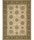 RugStudio presents Nourison Alexandria Al-08 Ivory Machine Woven, Better Quality Area Rug