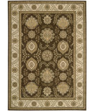 RugStudio presents Nourison Alexandria AL-08 Brown Machine Woven, Better Quality Area Rug