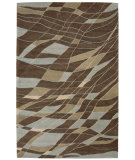 RugStudio presents Nourison Aspects AP-09 Brown Hand-Tufted, Best Quality Area Rug
