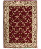 RugStudio presents Nourison Ashton House AS-07 Burgundy Machine Woven, Best Quality Area Rug