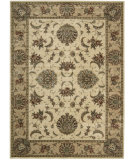 RugStudio presents Nourison Cambridge CG-02 Ivory-Gold Machine Woven, Better Quality Area Rug