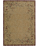 RugStudio presents Nourison Cambridge CG-07 Beige-Red Machine Woven, Better Quality Area Rug