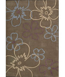 RugStudio presents Nourison Citi Limits Cit-2 Mocha Hand-Tufted, Good Quality Area Rug