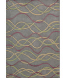 RugStudio presents Nourison Citi Limits Cit-3 Silver Hand-Tufted, Good Quality Area Rug