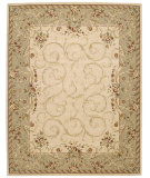 RugStudio presents Nourison Grand Chalet CL-01 Ivory Machine Woven, Best Quality Area Rug
