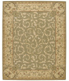 RugStudio presents Nourison Grand Chalet CL-05 Light Green Machine Woven, Best Quality Area Rug