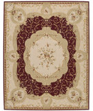 RugStudio presents Nourison Grand Chalet CL-06 Burgundy Machine Woven, Best Quality Area Rug