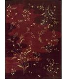 RugStudio presents Rugstudio Famous Maker 39533 Burgundy Machine Woven, Good Quality Area Rug