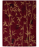 RugStudio presents Nourison Chambord CM-07 Red Machine Woven, Better Quality Area Rug
