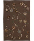 RugStudio presents Nourison Contour CON-05 Brown Hand-Tufted, Better Quality Area Rug