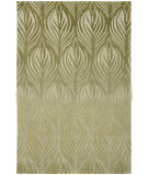 RugStudio presents Nourison Contour CON-06 Green Hand-Tufted, Better Quality Area Rug