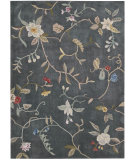 RugStudio presents Nourison Contour CON-12 Slate Hand-Tufted, Better Quality Area Rug