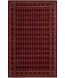 RugStudio presents Nourison Cosmopolitan Cs-94 Burgundy Machine Woven, Best Quality Area Rug