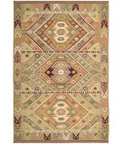 RugStudio presents Nourison Dakota DA-04 Green Flat-Woven Area Rug