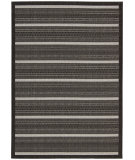 RugStudio presents Nourison Eclipse Ecl01 Black Machine Woven, Good Quality Area Rug