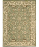 RugStudio presents Nourison Easy Living EL-01 Green Hand-Tufted, Good Quality Area Rug