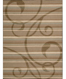 RugStudio presents Nourison Elements ELE-01 Mocha Machine Woven, Good Quality Area Rug