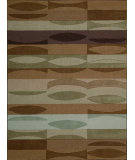 RugStudio presents Nourison Elements ELE-03 Brown Machine Woven, Good Quality Area Rug