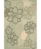 RugStudio presents Nourison Fantasy FA-05 Mint Hand-Hooked Area Rug