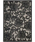 RugStudio presents Nourison Graphic Illusions GIL-02 Pewter Machine Woven, Good Quality Area Rug