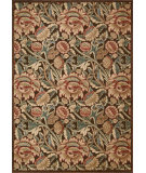 RugStudio presents Nourison Graphic Illusions GIL-10 Brown Machine Woven, Good Quality Area Rug