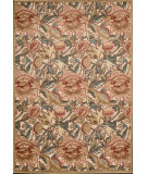 RugStudio presents Nourison Graphic Illusions GIL-10 Light Gold Machine Woven, Good Quality Area Rug