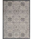 RugStudio presents Nourison Graphic Illusions GIL-12 Grey Machine Woven, Good Quality Area Rug