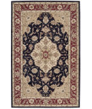 RugStudio presents Nourison Golden Crown GO02 Black Hand-Hooked Area Rug