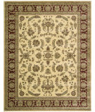 RugStudio presents Nourison Golden Saga GS-03 Ivory Machine Woven, Better Quality Area Rug