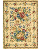 RugStudio presents Nourison Country Heritage H-303 Yellow Hand-Hooked Area Rug