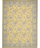 RugStudio presents Nourison Country Heritage H-312 Yellow Hand-Hooked Area Rug