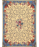 RugStudio presents Nourison Country Heritage H-358 Yellow Hand-Hooked Area Rug