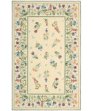 RugStudio presents Rugstudio Sample Sale 77223 Ivory Hand-Hooked Area Rug